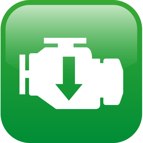 Warranty engine icon